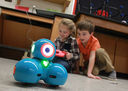 Dots and Dashes: Lower Schoolers Learning to Code Robots