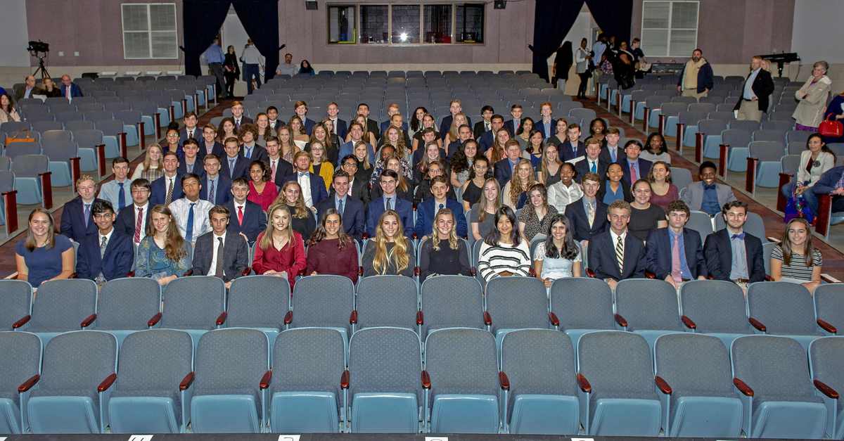 96 Students Inducted into National Honor Society