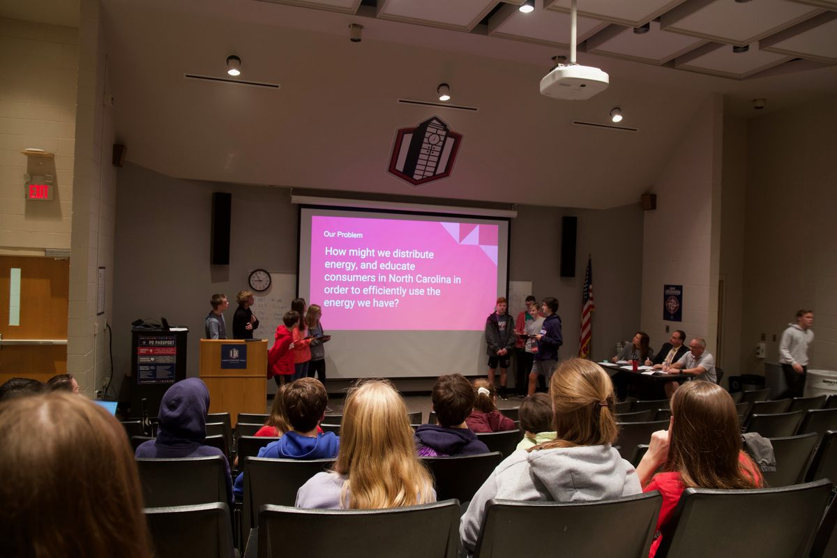 PDS 8th Graders Engage in Capstone Presentations to Combat Global Problems