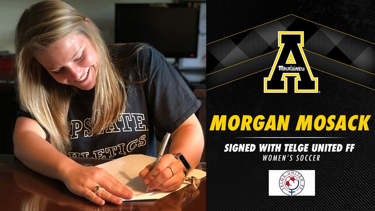After a great four years playing soccer for Appalachian State, Providence Day alum Morgan Mosack '14 is about to begin her professional soccer career