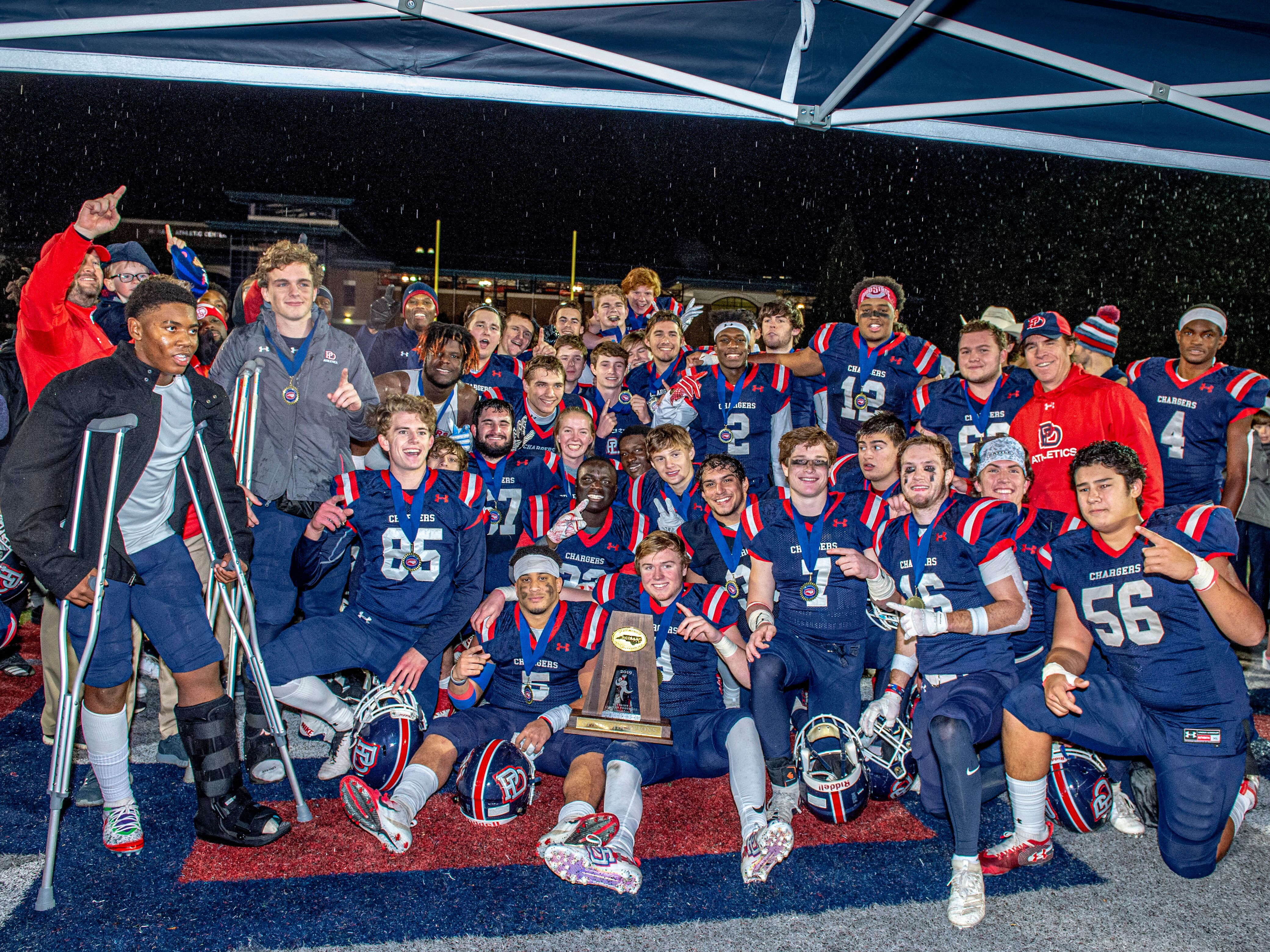 Providence Day sacks Metrolina Christian's upset hopes, wins NCISAA D2 state title