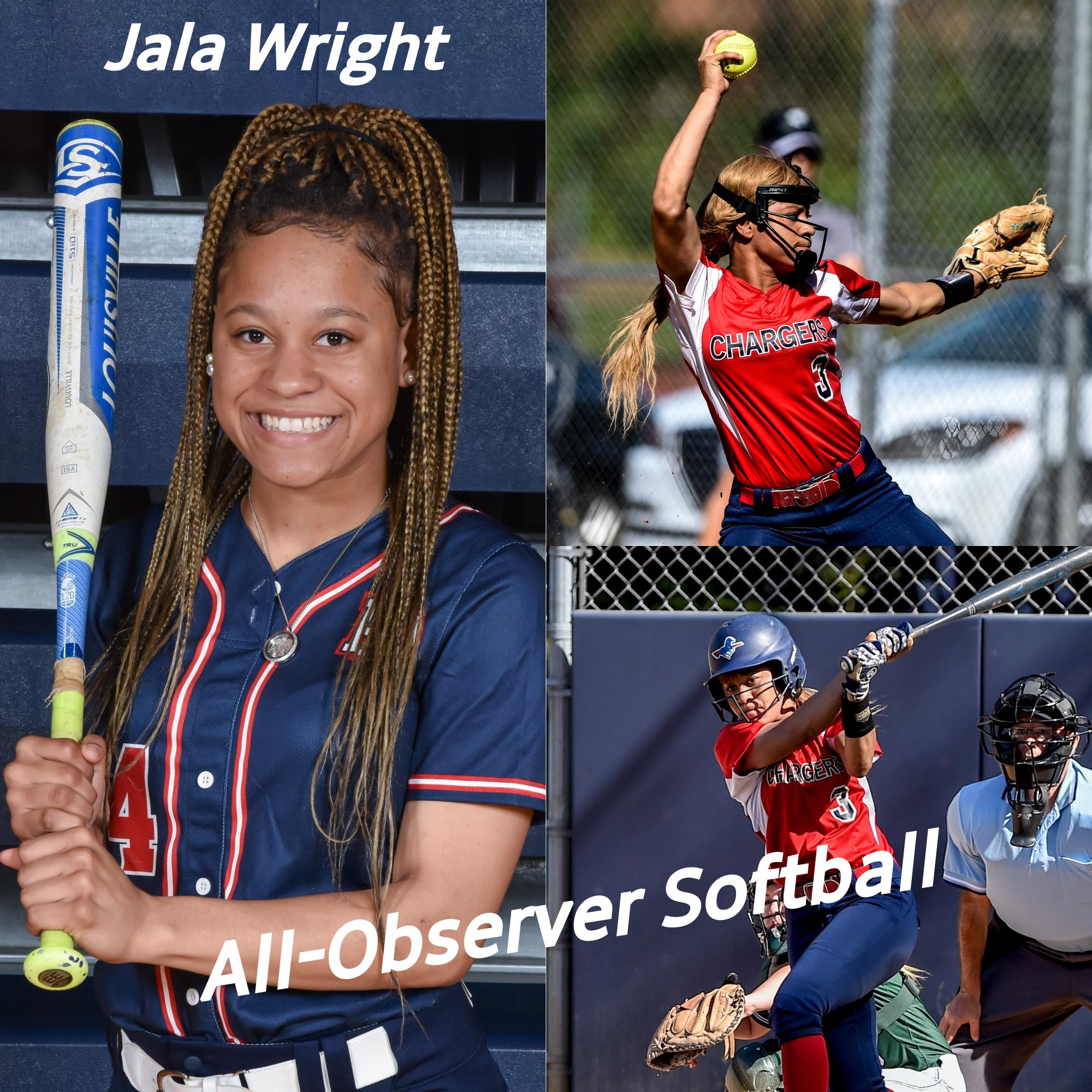 Junior Jala Wright named to Charlotte Observer's