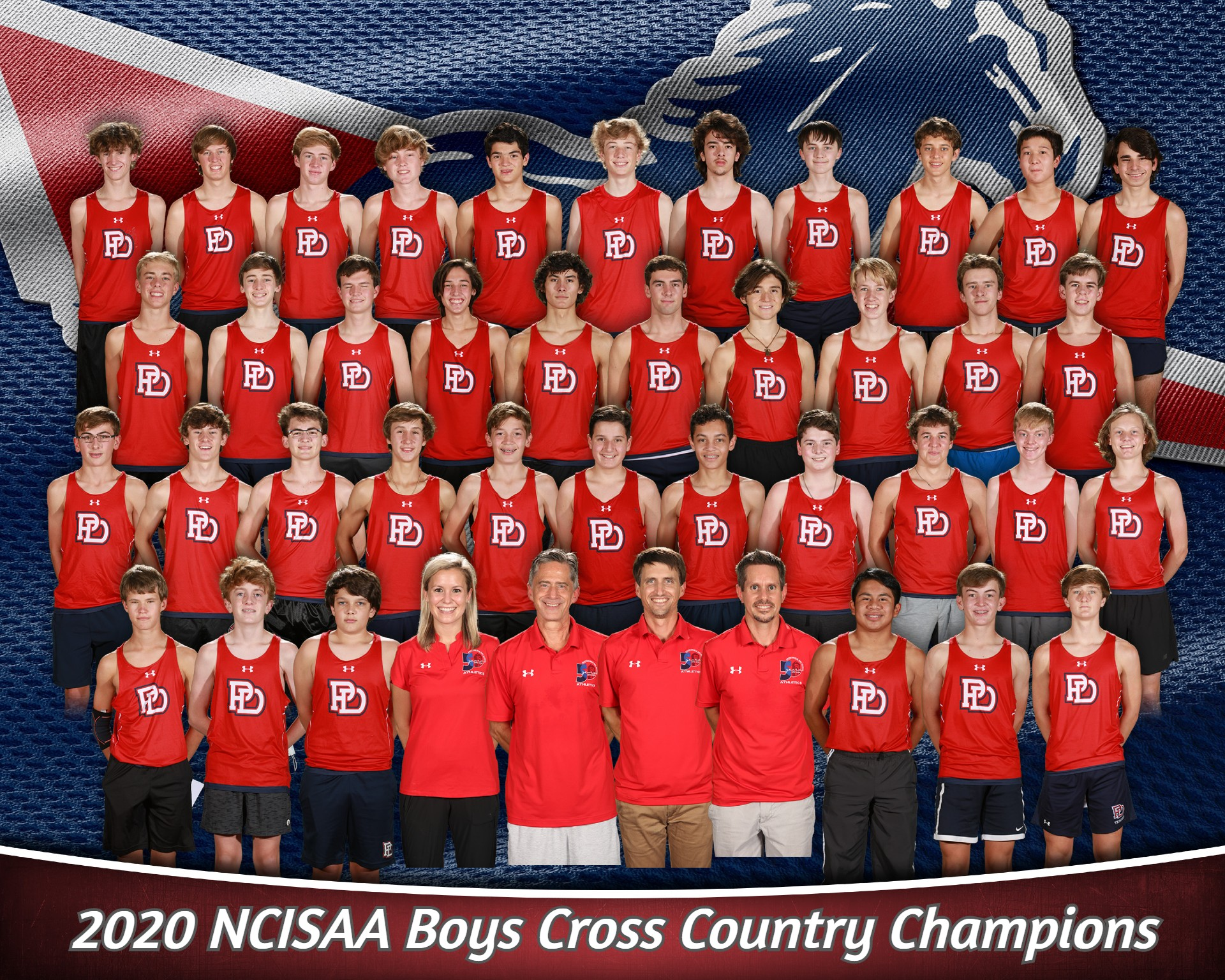 Boys Cross Country team wins fourth consecutive NCISAA State Championship