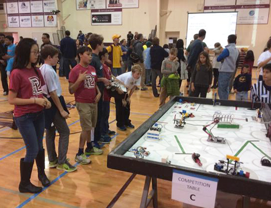 Middle Schoolers Earn Trophy At Lego Robotics Competition